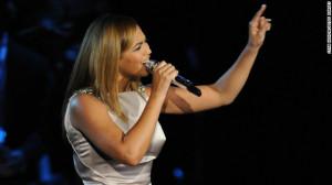 Beyoncé cantará el himno de EE.UU. en la toma de posesión de Obama