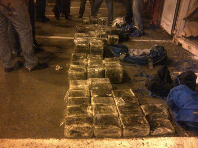 Encuentran cocaína en seis bultos camuflageados en sacos de cacao que serían exportados a Italia