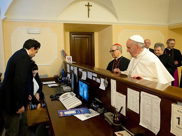 El Papa lavará el Jueves Santo los pies de doce menores presos