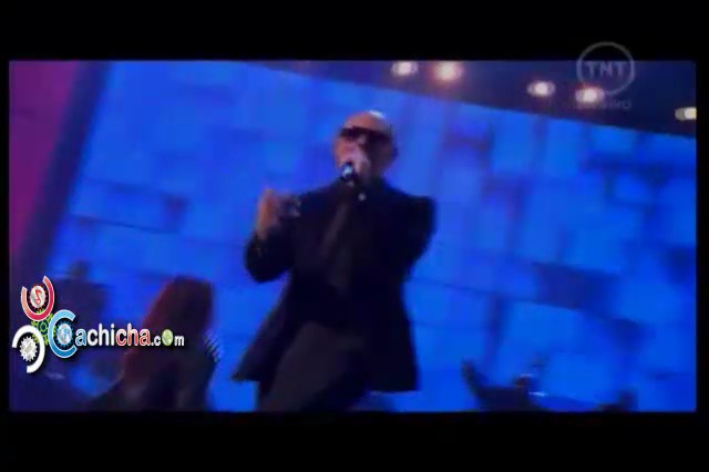 Presentación de Pitbull American Music Awards 2012 #Video