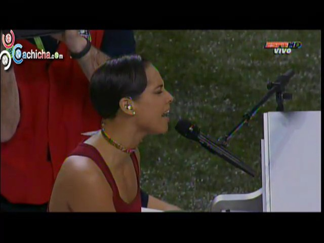 Presentacion de Alicia keys en el #superbowl #Video