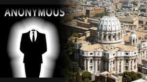Anonymous se lanza contra el Vaticano