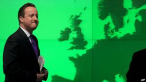 David Cameron en la encrucijada europea.