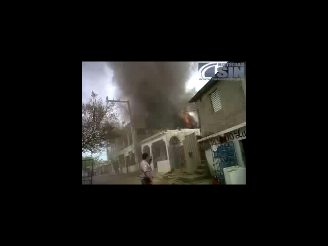 Incendio En Los Alcarrizo #video