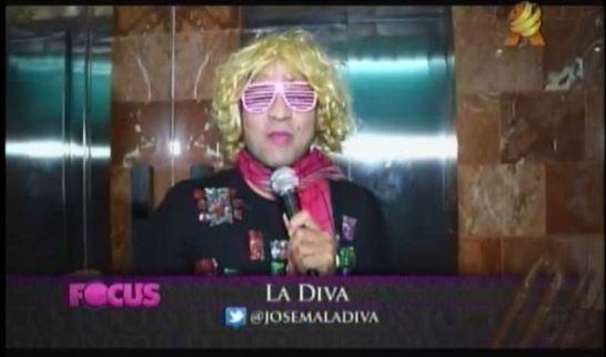 Los chismes del espect culo con la diva video for Chusmerios del espectaculo