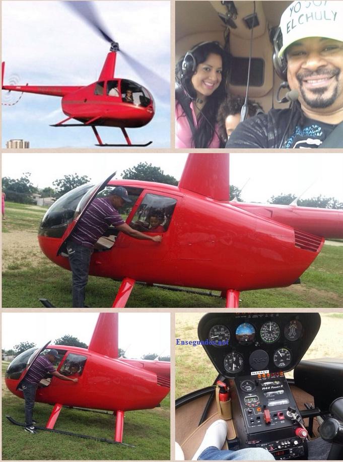 Luis Vargas compra helicóptero