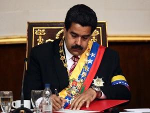 VENEZUELA-MADURO-SWEARING-IN