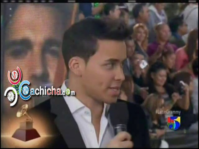 @PrinceRoyce #AlfombraVerde #LatinGrammy 2012 #Video
