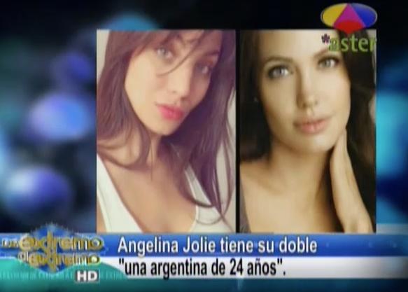 Far ndula extrema la doble de angelina jolie una joven de for Farandula argentina de hoy