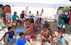 Valoran positivo ambiente en Playa Encuentro