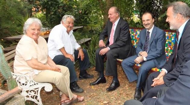 Pepe Mujica Recibi En Su Humilde Y Rural Vivienda Al Ex