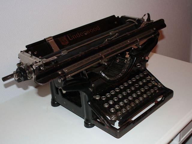 maquina escribe