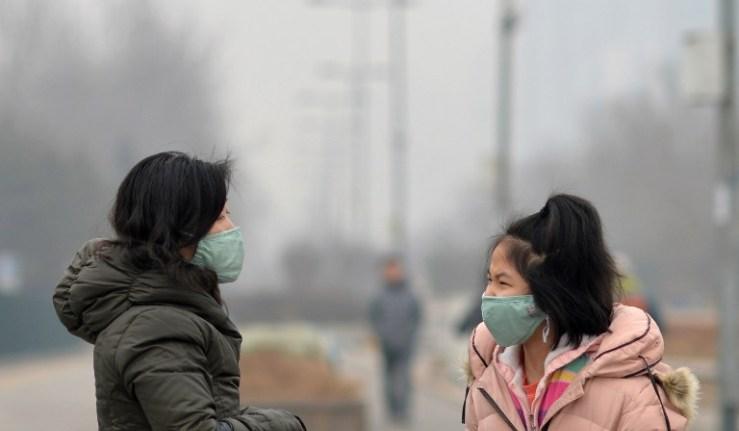 CHINA-POLLUTION-AIR