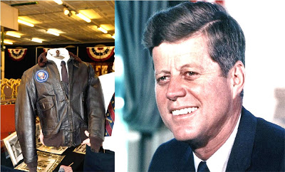 Chaqueta usada por Kennedy en avión oficial fue comprada en subasta por US$570,000