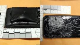 El celular le salvó la vida