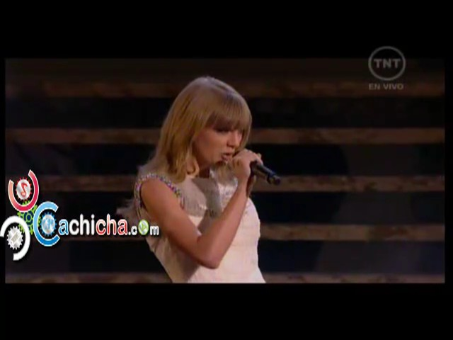 Presentacion – Taylor Swift En – American Music Awards 2012 #Video