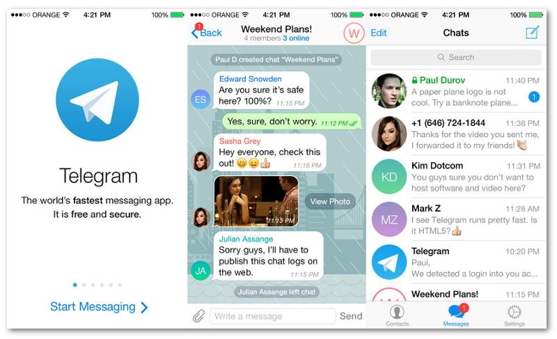 Telegram obtuvo 1,8 millones de usuarios nuevos por caída de WhatsApp