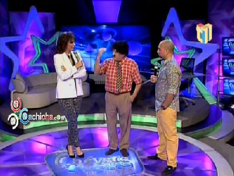 Vicente visita a Milagros German en @Cheverenights @sergiocarlo @MilagrosGermanO #Video