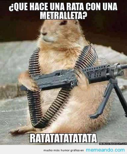 Cuidado todos ratatatatatata