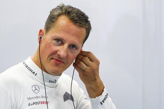 Schumacher, consciente por momentos