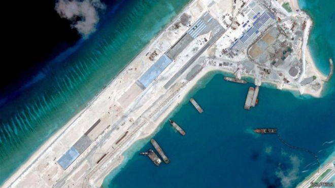 Por qué preocupan tanto las islas que China está construyendo