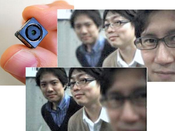 Toshiba prepara un módulo que permitirá al usuario enfocar luego de tomar una fotografía. En el modo video, es capaz de retener una imagen en primer plano y cambiar el fondo