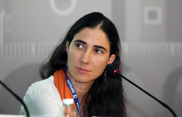 """Yoani Sánchez lanzó """"14ymedio"""", primer medio independiente en 50 años en Cuba"""