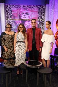 Anny Abate, Ingrid Goěmez, Francisco Sanchis y Letty Rivera