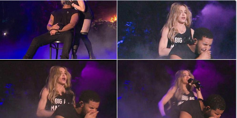 """CMadonna sobre su beso con Drake: """"Besé a una chica y me gustó"""""""