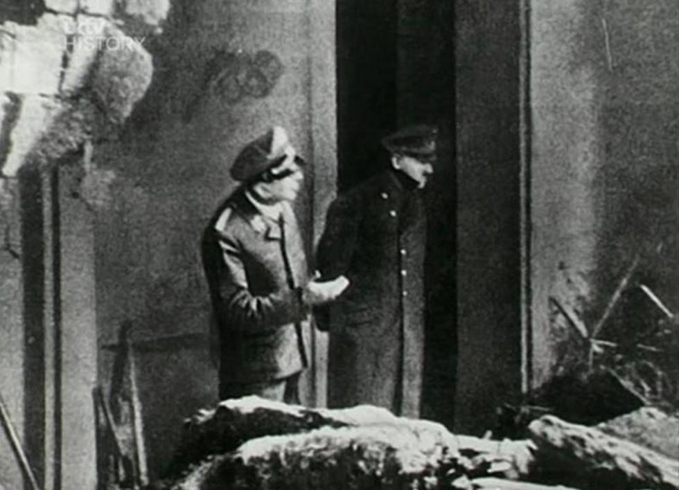 Publican la última foto de Hitler antes de suicidarse