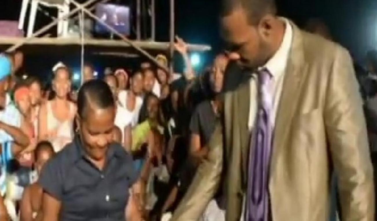 """El dominicano Jorge Mercedes Cedeño, preso en Colombia, se anunciaba como """"El Profeta""""."""