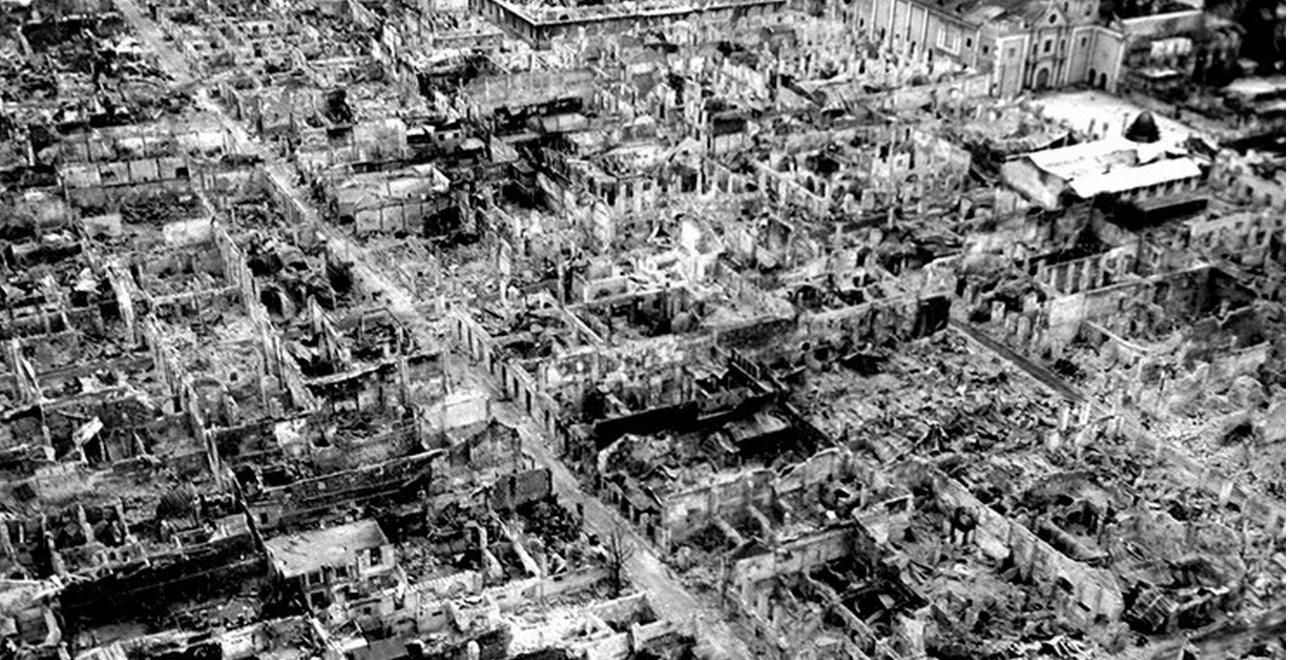 Japón publica una impresionante panorámica de Hiroshima después de la bomba nuclear