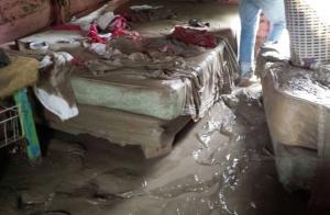 67 familias fueron desplazadas por inundaciones registradas en Azua