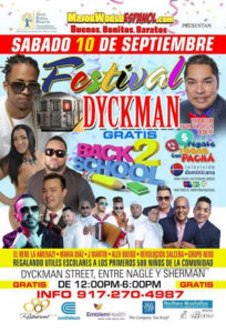 Festival de Dyckman 2016