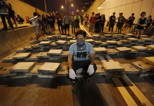 HONG KONG-PROTESTAS