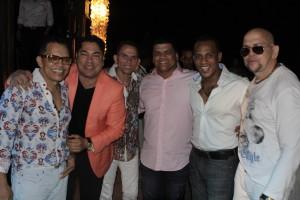 Los Rosario junto a Ramses Peralta y El Pacha