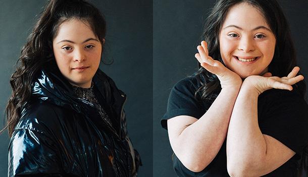 Ellie Goldstein primera mujer con síndrome de Down la nueva modelo ...