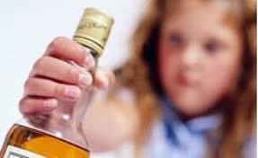 No alcohol a los menores