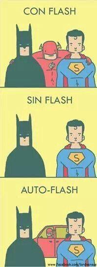 Tomame una foto con flash