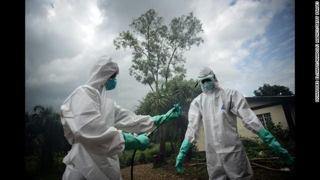 Trabajadores Ebola