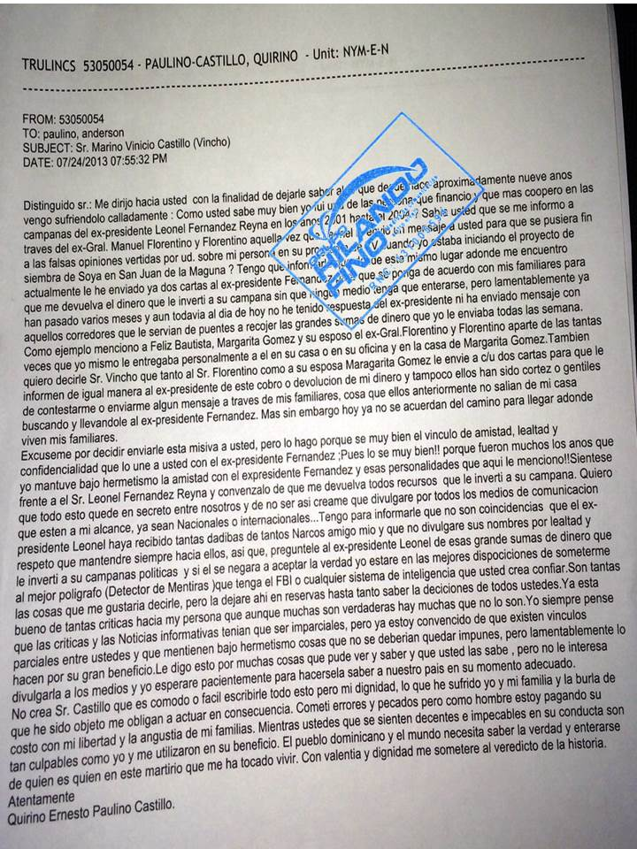carta de quirino