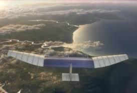 Con drones Facebook llevará internet a todos