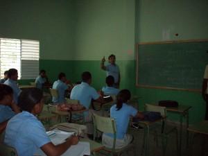 estudiantes en RD
