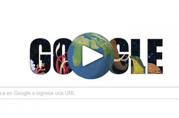"""Hoy es Día de la Tierra y Google le rinde honor con un """"doodle"""""""