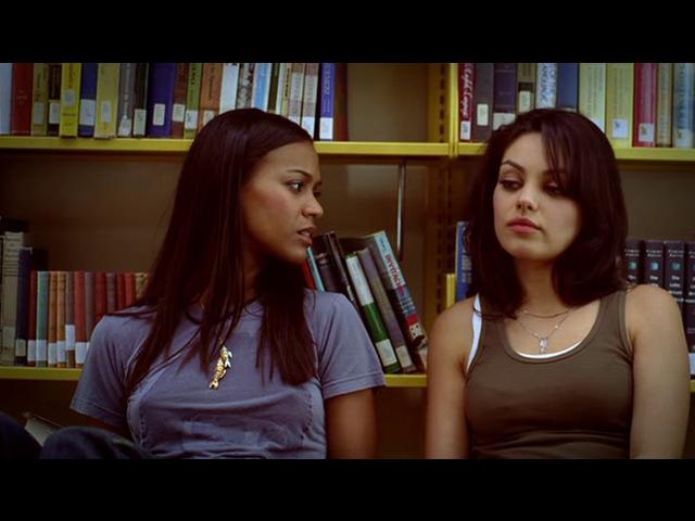Saldaña es Kat en esta película. Ocho parejas diferentes en diferentes momentos de sus relaciones, conversan inmediatamente después de tener relaciones sexuales.