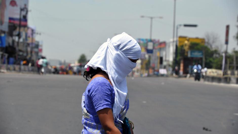 INDIA-WEATHER-HEAT