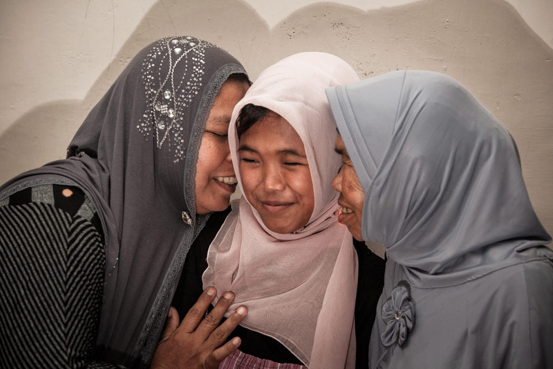 Indonesia Tsunami victim reunited with family
