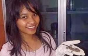 mujer asegura que ella dio a luz a una lagartija