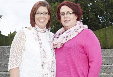 Tras 12 años de casados él se volvió mujer y siguen juntos