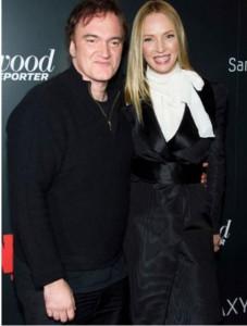 Uma Thurman y Quentin Tarantino